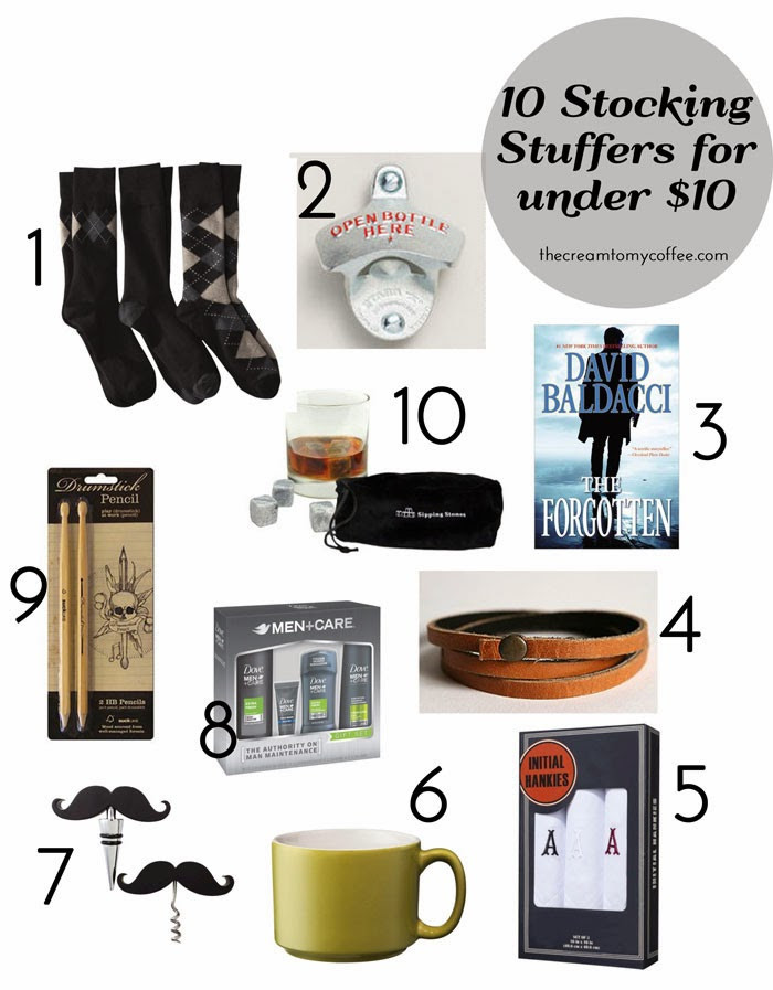 Best ideas about $10 Gift Ideas For Guys . Save or Pin Men s Stocking Stuffers under $10 & A Giveaway from Now.