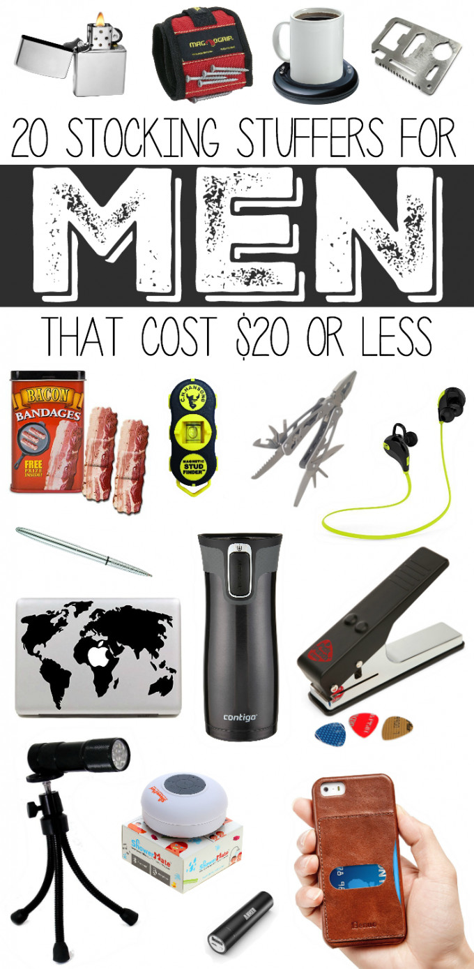 Best ideas about $10 Gift Ideas For Guys . Save or Pin 20 Stocking Stuffers for Men under $20 Now.