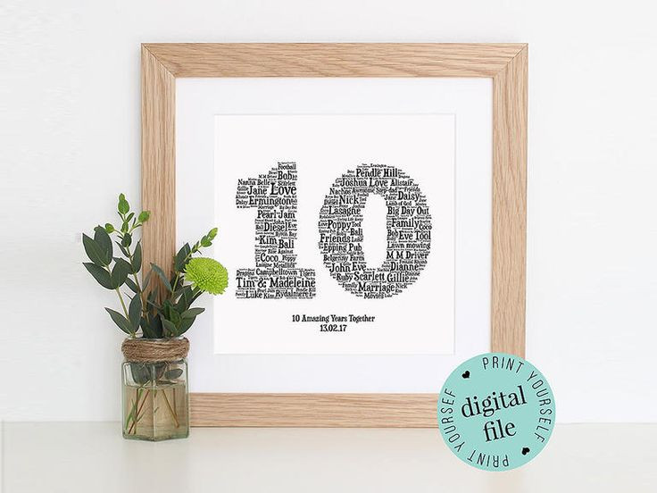 Best ideas about 10 Year Anniversary Gift Ideas For Her . Save or Pin 25 best ideas about 10 Year Anniversary Gift on Pinterest Now.