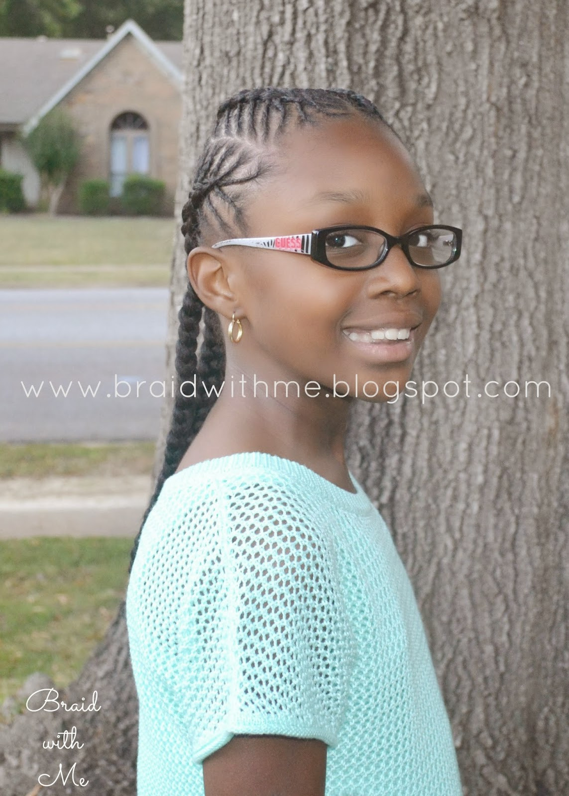 Best ideas about 10 Year Old Hairstyles For School . Save or Pin Beads Braids and Beyond Natural Hairstyle for Kids Fish Now.