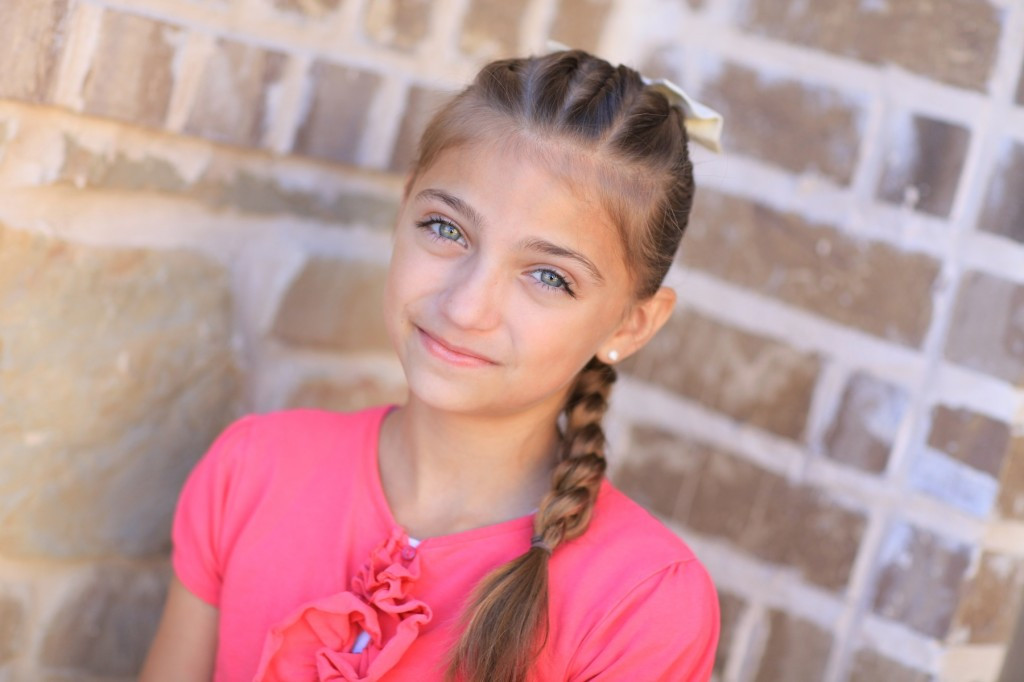Best ideas about 10 Year Old Hairstyles For School . Save or Pin Pull Through Braid Easy Hairstyles Now.
