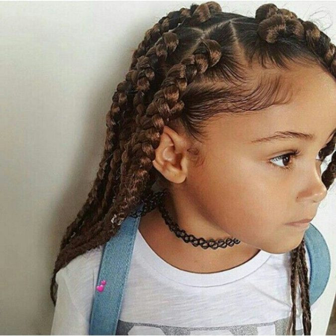 Best ideas about 10 Year Old Hairstyles For School . Save or Pin Top 10 Cutest Hairstyles for Black Girls in 2018 – Pouted Now.