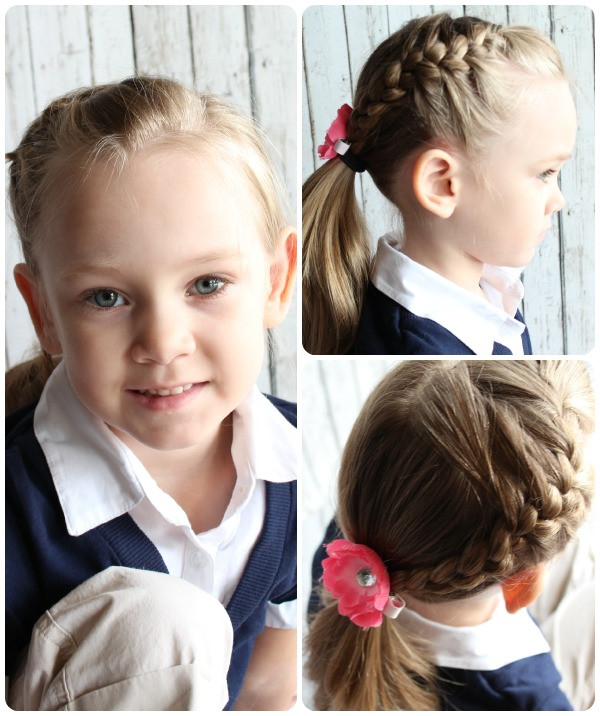 Best ideas about 10 Year Old Hairstyles For School . Save or Pin Easy Little Girls Hairstyles 10 Cutest Ideas in 5 Now.