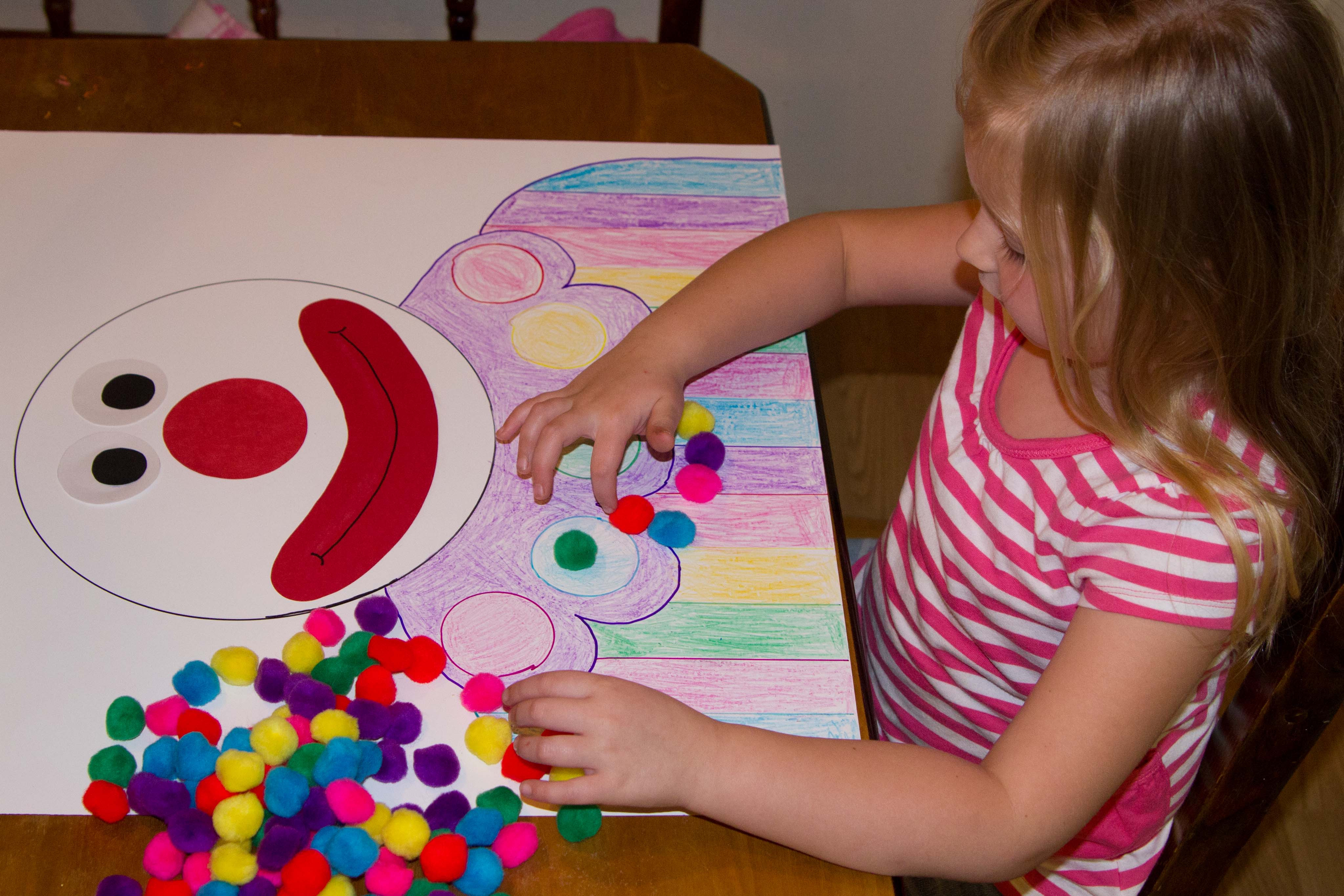 Best ideas about 100 Day Of School Project Idea . Save or Pin Kids Arts and Crafts Now.