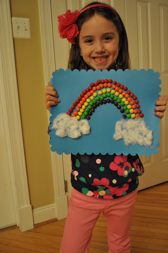 Best ideas about 100 Day Of School Project Idea . Save or Pin 100 Days of School Project Rainbow of Skittles Classy Now.