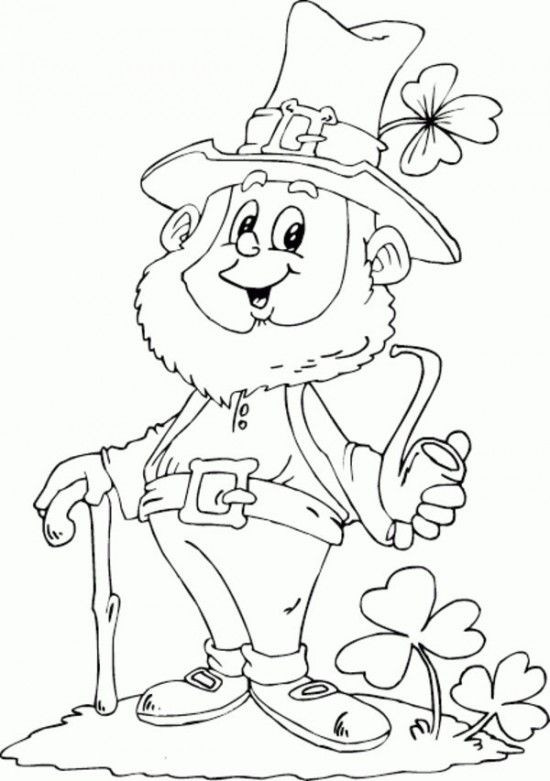 Best ideas about 1000 Free Coloring Pages . Save or Pin Printable Leprechaun Pattern Now.