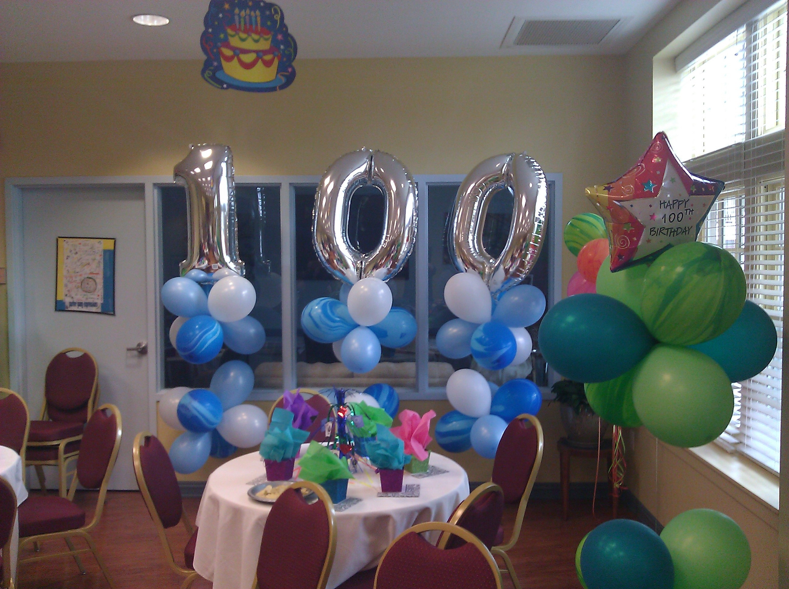 Best ideas about 100th Birthday Ideas . Save or Pin Happy 100th Now.