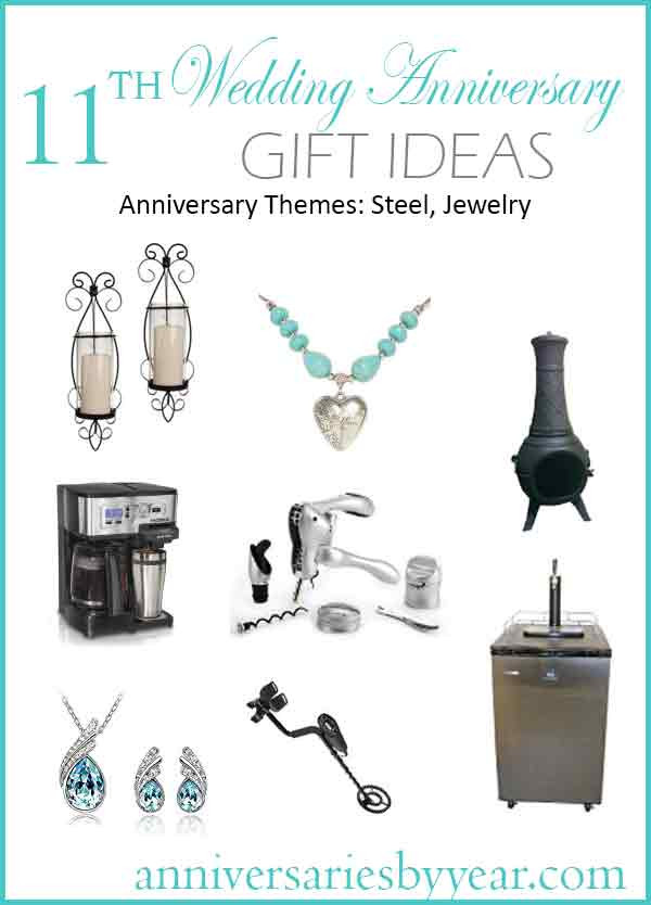 Best ideas about 11 Year Anniversary Gift Ideas . Save or Pin 11th Anniversary Eleventh Wedding Anniversary Gift Ideas Now.