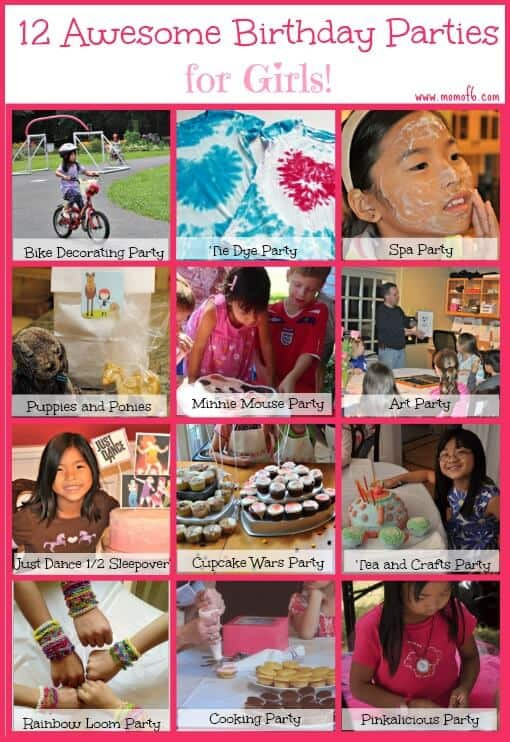 Best ideas about 12 Year Old Birthday Party . Save or Pin 12 Awesome Birthday Party Ideas for Girls Mom 6 Now.