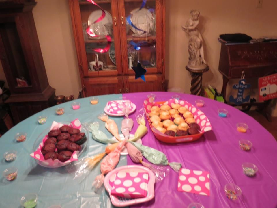 Best ideas about 12 Year Old Birthday Party . Save or Pin Cupcake Bar Great idea Used for a 12 year olds birthday Now.
