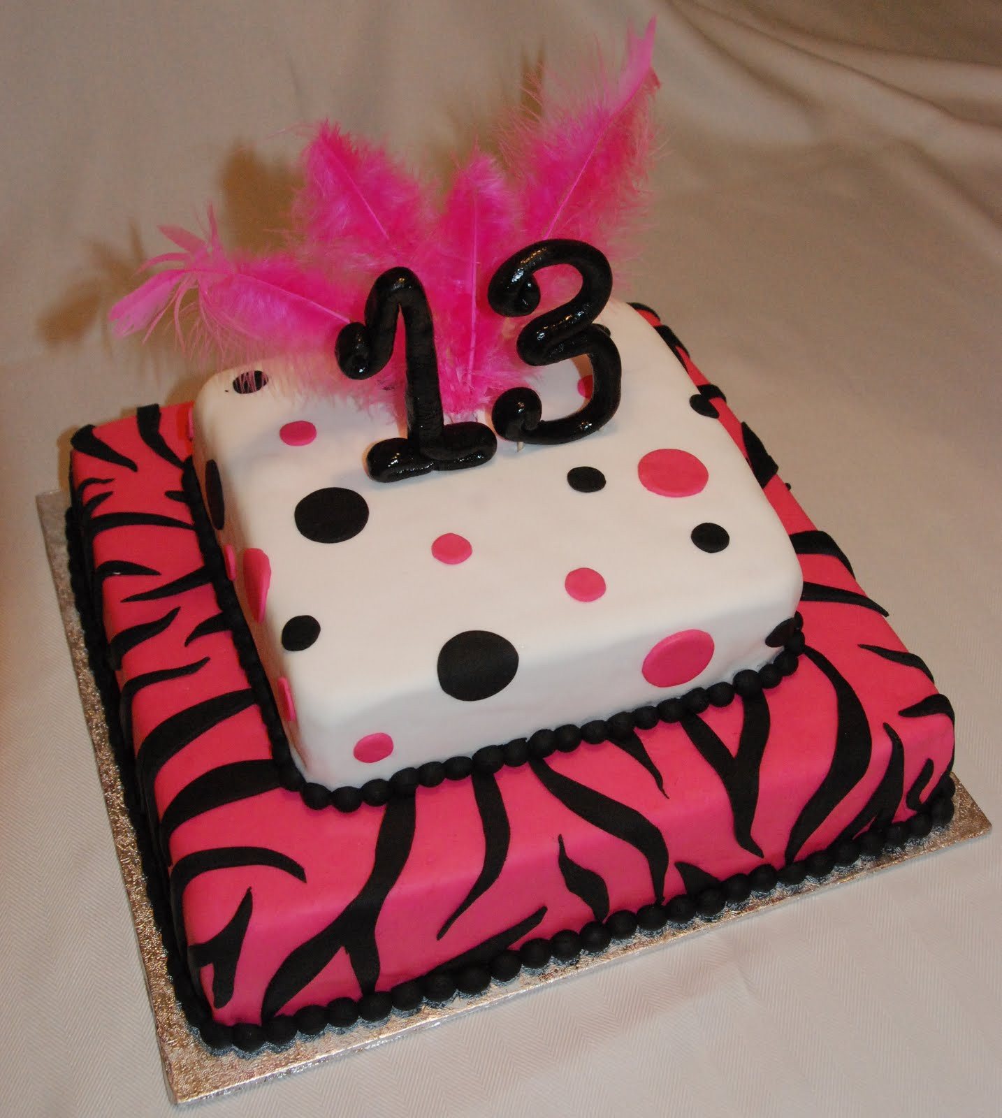 Best ideas about 13 Birthday Cake . Save or Pin Cake Creations by Trish 13th Birthday Cake Now.