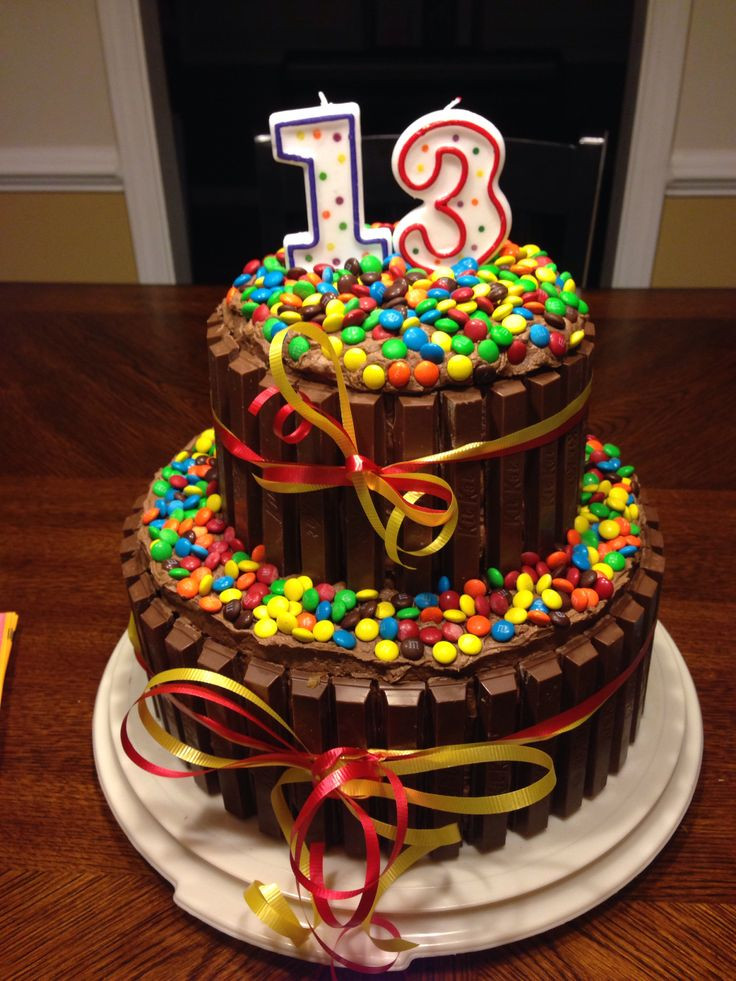 Best ideas about 13 Birthday Cake . Save or Pin Decided to try this for my sons 13 th Bday What fun this Now.