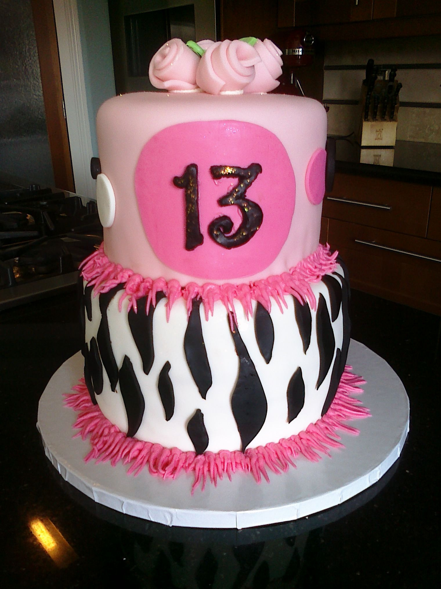 Best ideas about 13 Birthday Cake . Save or Pin Happy 13th Birthday Cake Food and drinks Now.
