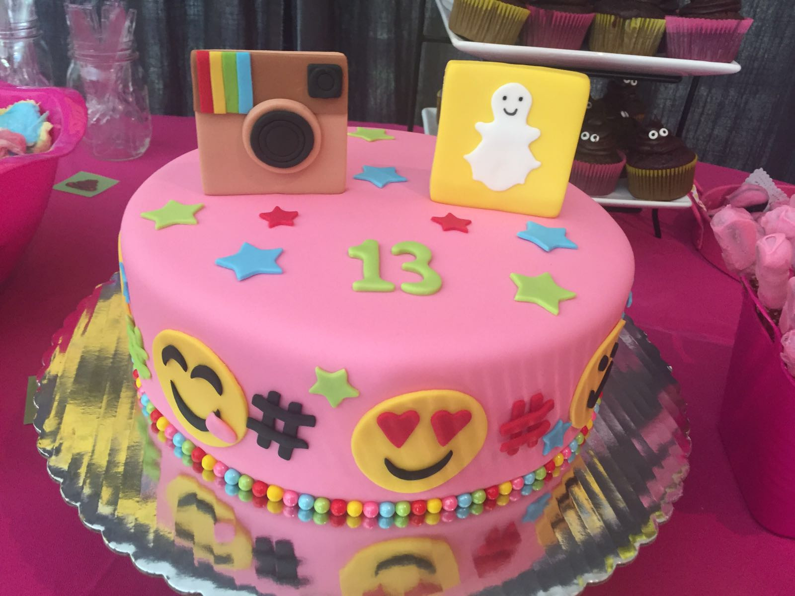 Best ideas about 13 Birthday Cake . Save or Pin My daughter turned 13th and I threw the bestest birthday Now.