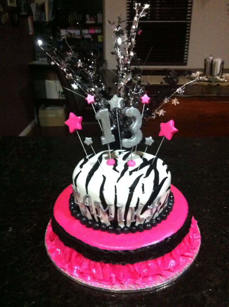 Best ideas about 13 Birthday Cake . Save or Pin 13 birthday cake Now.