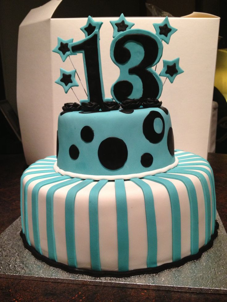 Best ideas about 13 Birthday Cake . Save or Pin 25 best ideas about 13th Birthday Cakes on Pinterest Now.