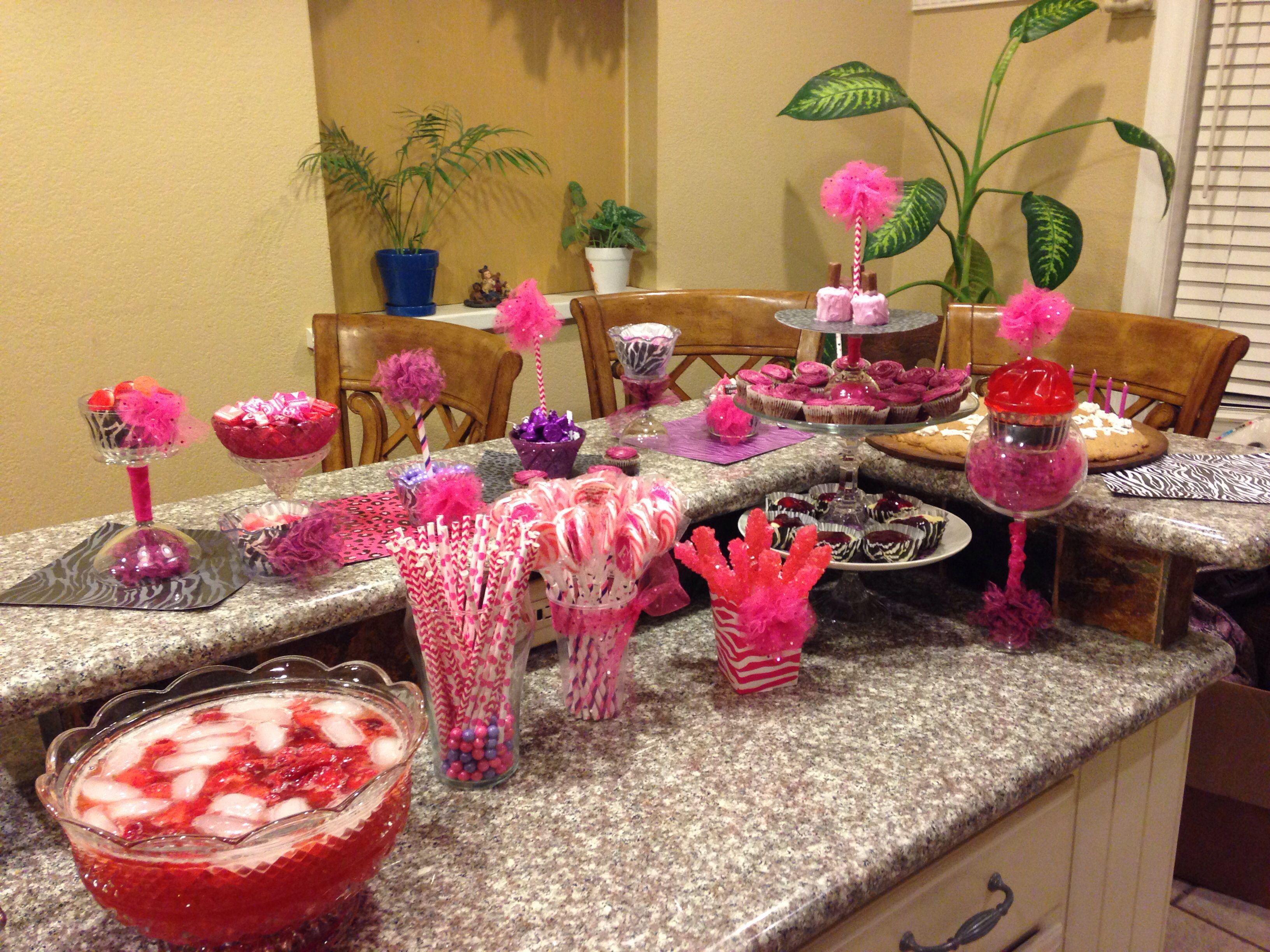 Best ideas about 13th Birthday Decorations . Save or Pin Sweet 13th birthday Party Ideas Now.