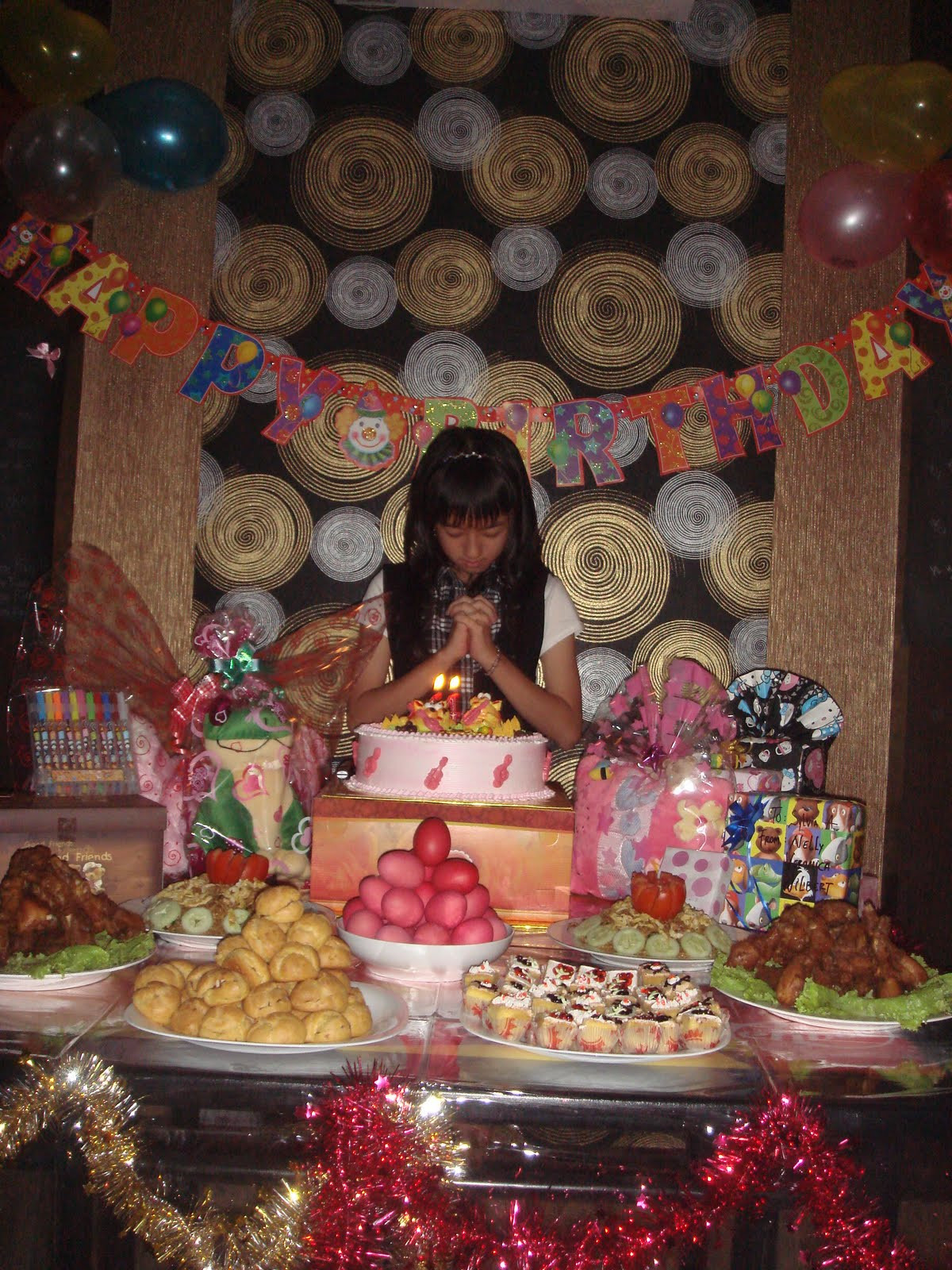 Best ideas about 13th Birthday Decorations . Save or Pin Sylvia s daily life ♥ My 13th Birthday Party Now.
