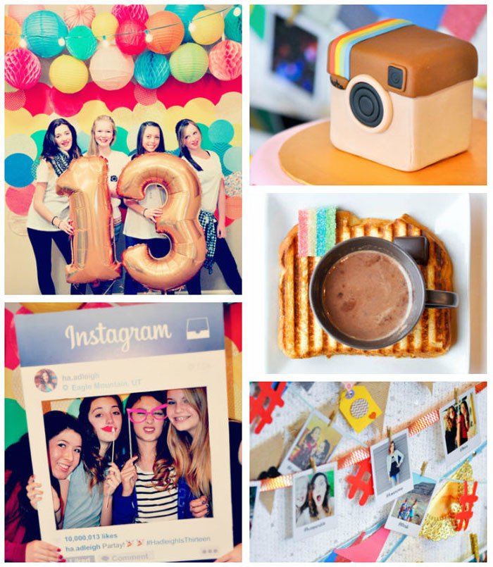 Best ideas about 13th Birthday Decorations . Save or Pin Kara s Party Ideas Glam Instagram Themed 13th Birthday Party Now.