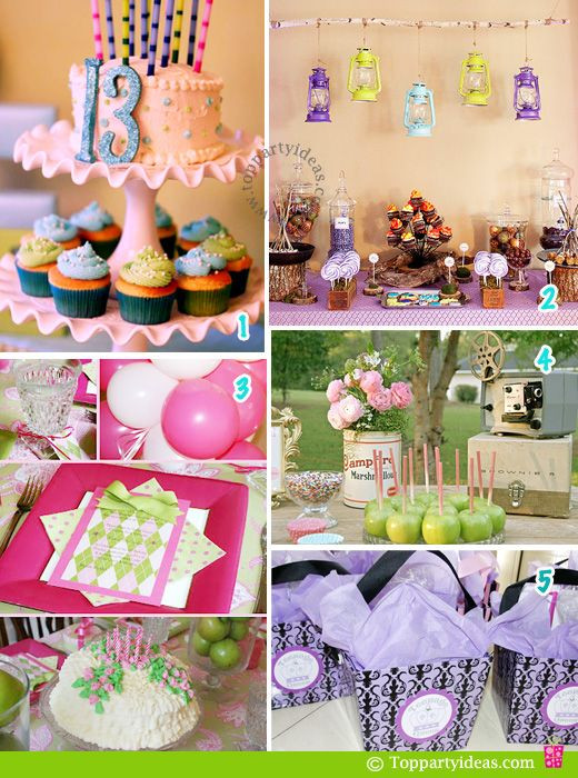 Best ideas about 13th Birthday Decorations . Save or Pin 13th Birthday Party Ideas and Various themes Now.
