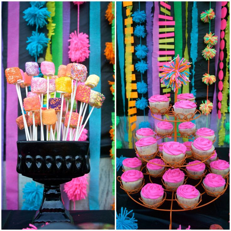 Best ideas about 13th Birthday Decorations . Save or Pin Neon 13th Birthday Party Parties Pinterest Now.