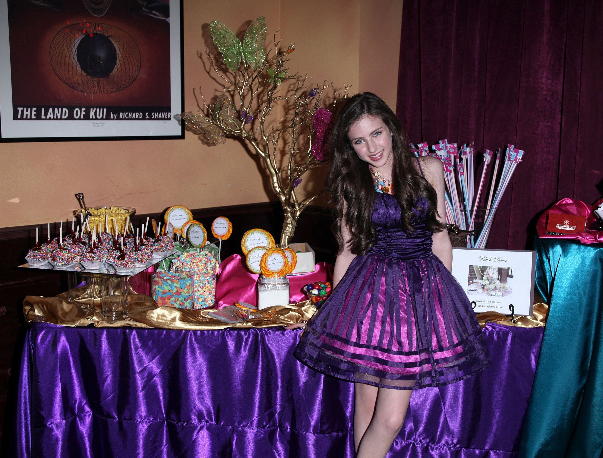 Best ideas about 13th Birthday Decorations . Save or Pin Ryan Newman at her 13th birthday party Sit s line Now.