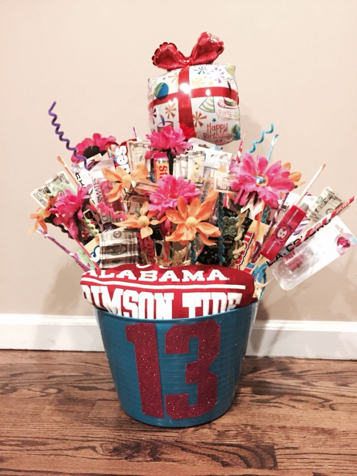 Best ideas about 13th Birthday Gifts . Save or Pin 13th Birthday Gift Girls $ candy and makeup What every 13 Now.
