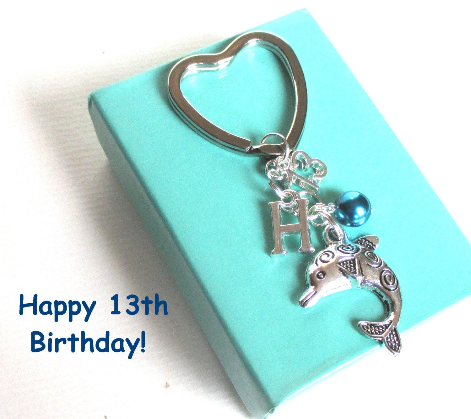 Best ideas about 13th Birthday Gifts . Save or Pin 13th birthday t Dolphin keychain Personalised 13th Now.