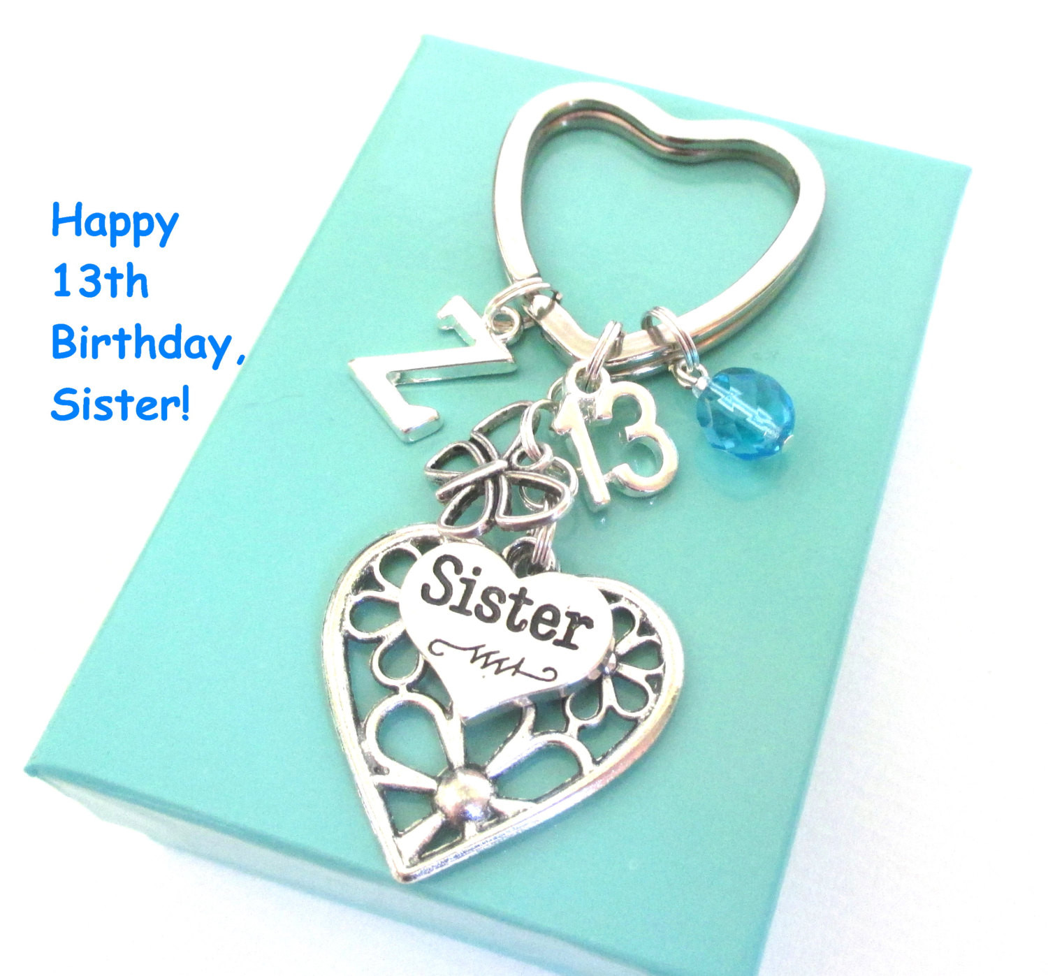 Best ideas about 13th Birthday Gifts . Save or Pin 13th birthday t for Sister Personalised by DoodlepopDesigns Now.