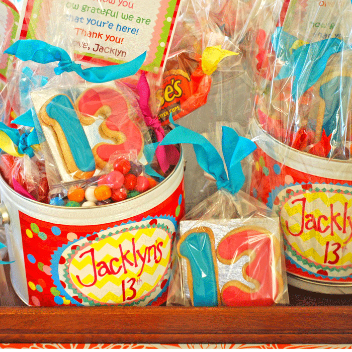 Best ideas about 13th Birthday Party Supplies . Save or Pin 13th birthday party favors the solvang bakery 700 The Now.
