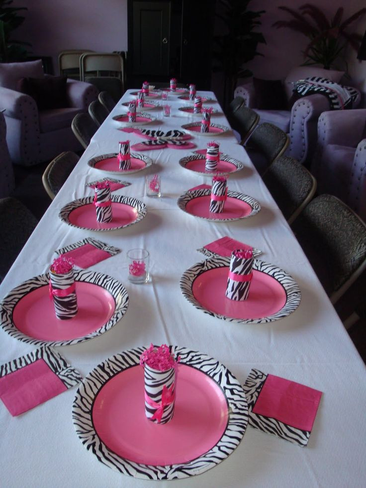 Best ideas about 13th Birthday Party Supplies . Save or Pin Zebra Print Party Supplies Now.
