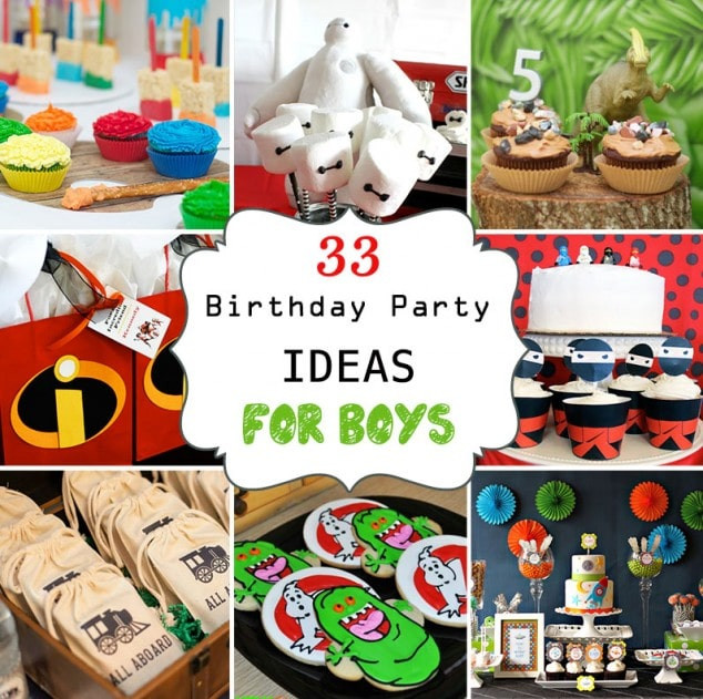 Best ideas about 15 Year Old Boy Birthday Party Ideas . Save or Pin 33 Awesome Birthday Party Ideas for Boys Now.