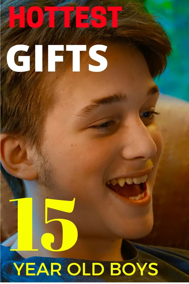 Best ideas about 15 Year Old Gift Ideas . Save or Pin 100 best Best Gifts for Teen Boys images on Pinterest Now.