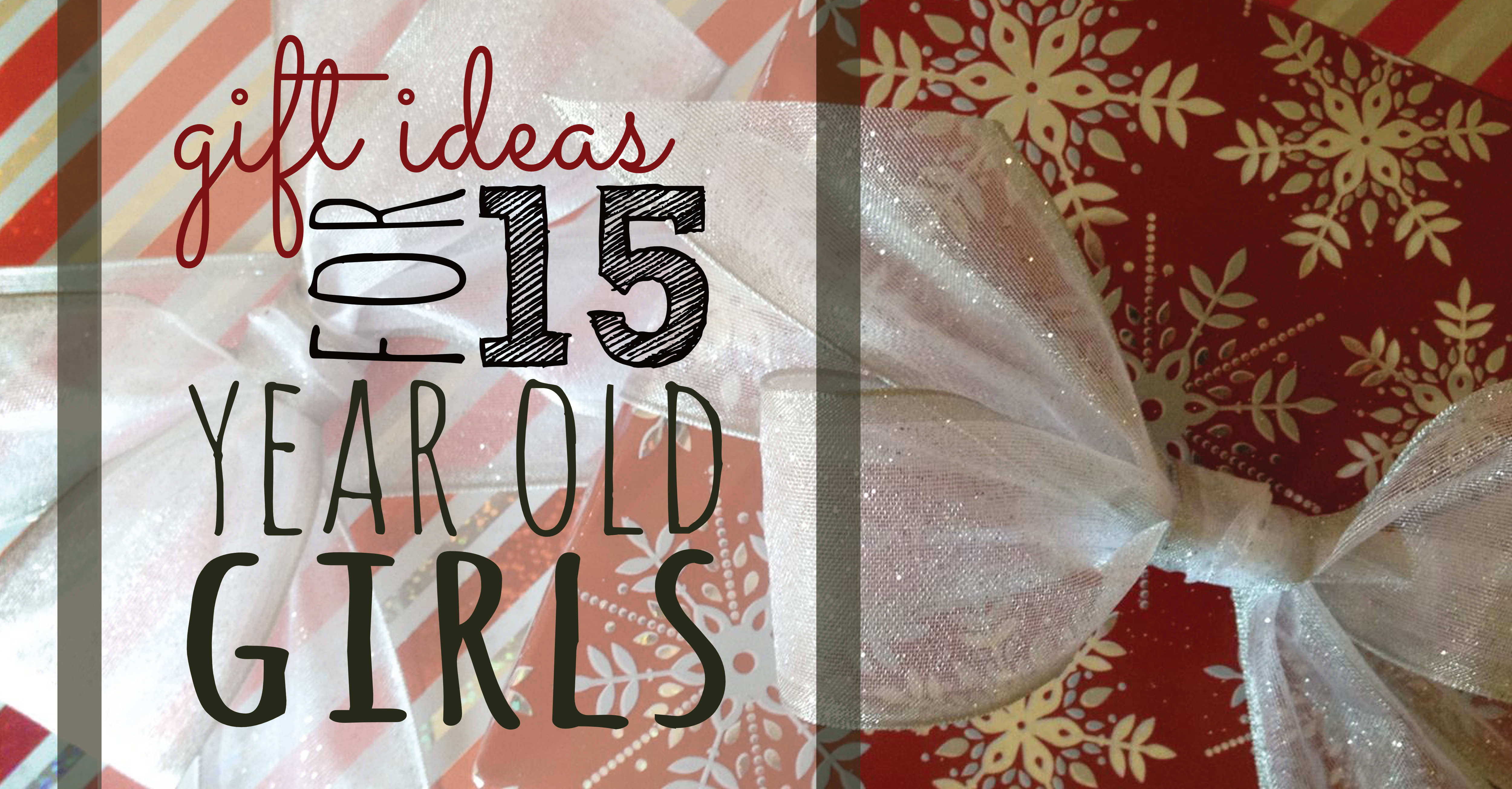 Best ideas about 15 Year Old Gift Ideas . Save or Pin Gift Ideas for 15 Year Old Girls Sunshine and Rainy Days Now.