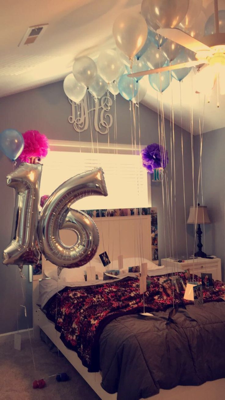 Best ideas about 16th Birthday Decorations . Save or Pin 16th Birthday Surprise Idea … Now.