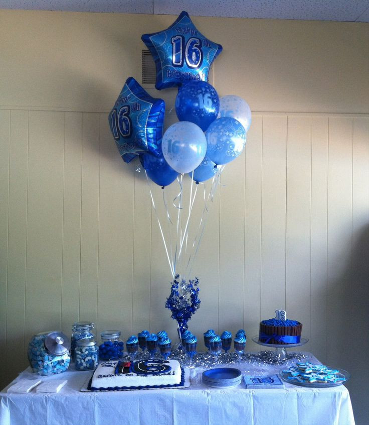 Best ideas about 16th Birthday Decorations For A Boy . Save or Pin 1000 images about Ideas for Aaron s 16th Birthday on Now.