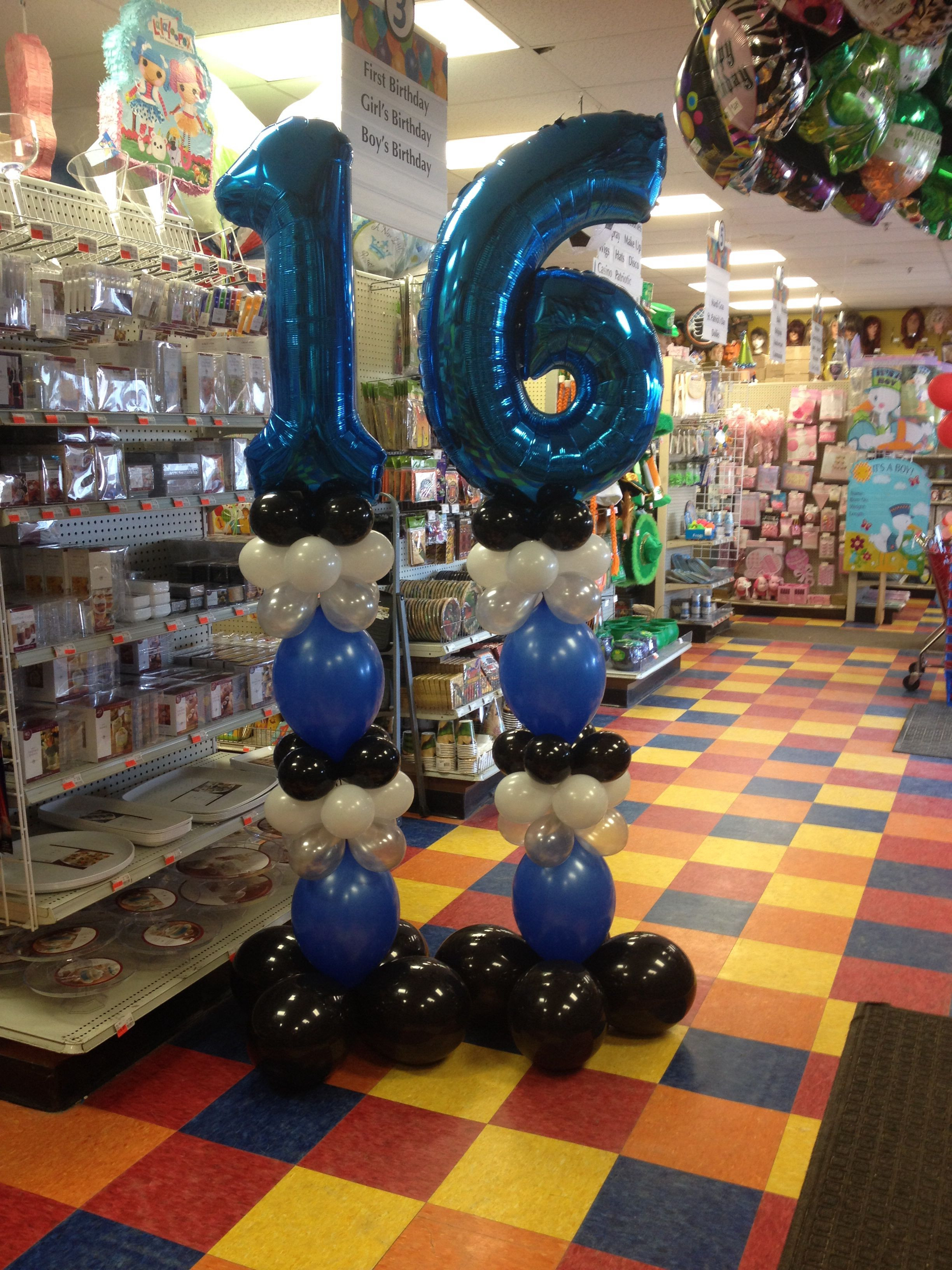 Best ideas about 16th Birthday Decorations For A Boy . Save or Pin 16th birthday for a boy Party Fair Willow Grove Pa Now.