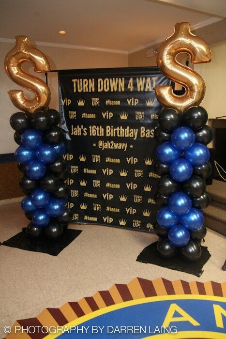 Best ideas about 16th Birthday Decorations For A Boy . Save or Pin Pin by Amanda Patten on Connors 16th birthday Now.
