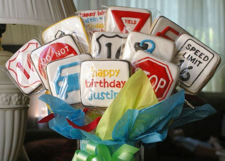 Best ideas about 16th Birthday Decorations For A Boy . Save or Pin for a 16th birthday made road signs for party decor Now.