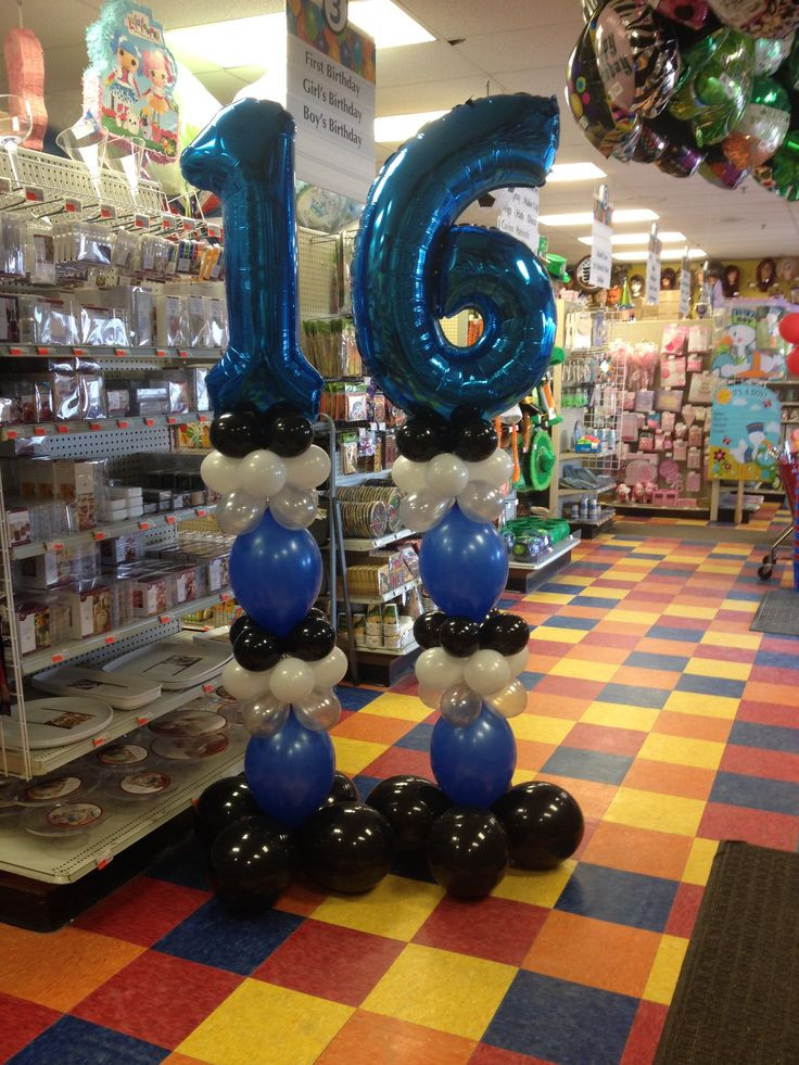 Best ideas about 16th Birthday Decorations . Save or Pin Best 25 Boy 16th birthday ideas on Pinterest Now.