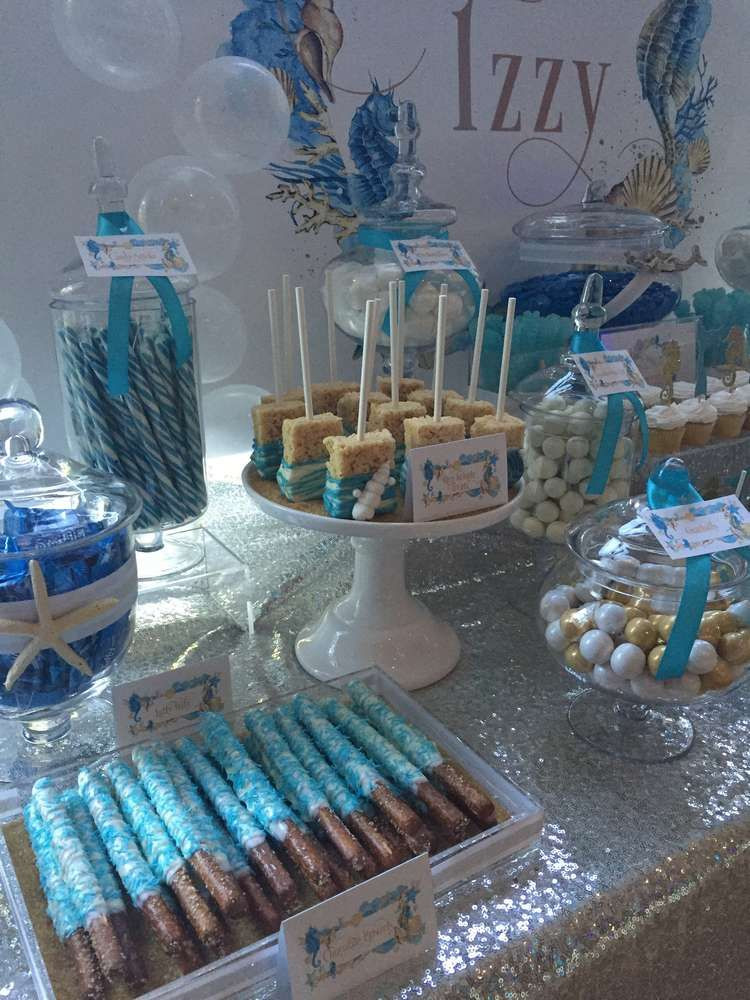 Best ideas about 16th Birthday Decorations . Save or Pin Under the Sea Birthday Party Ideas in 2019 Now.