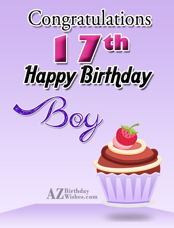 Best ideas about 17 Th Birthday Wishes . Save or Pin 17th Birthday Wishes Now.