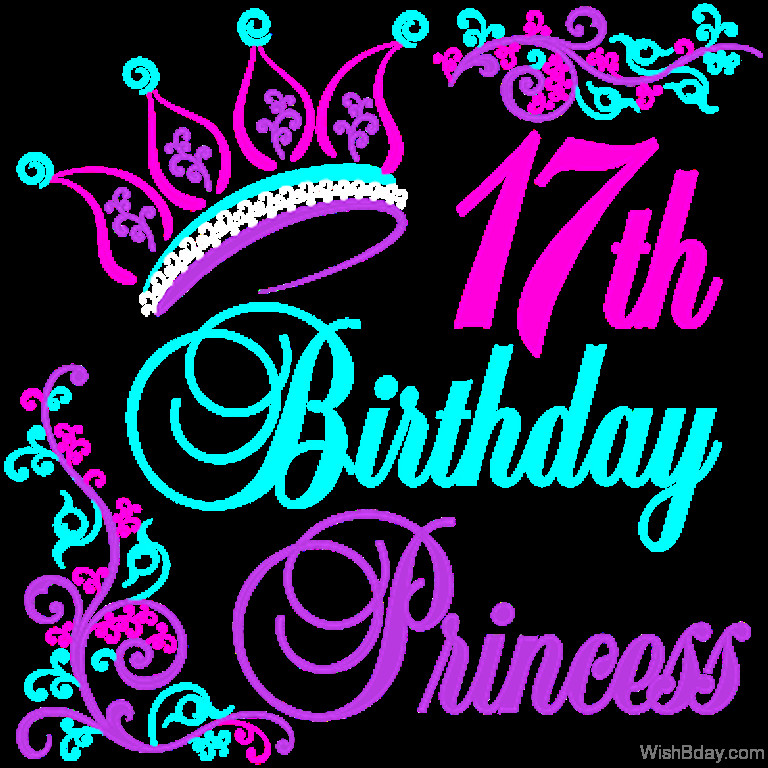 Best ideas about 17 Th Birthday Wishes . Save or Pin 50 17th Birthday Wishes Now.