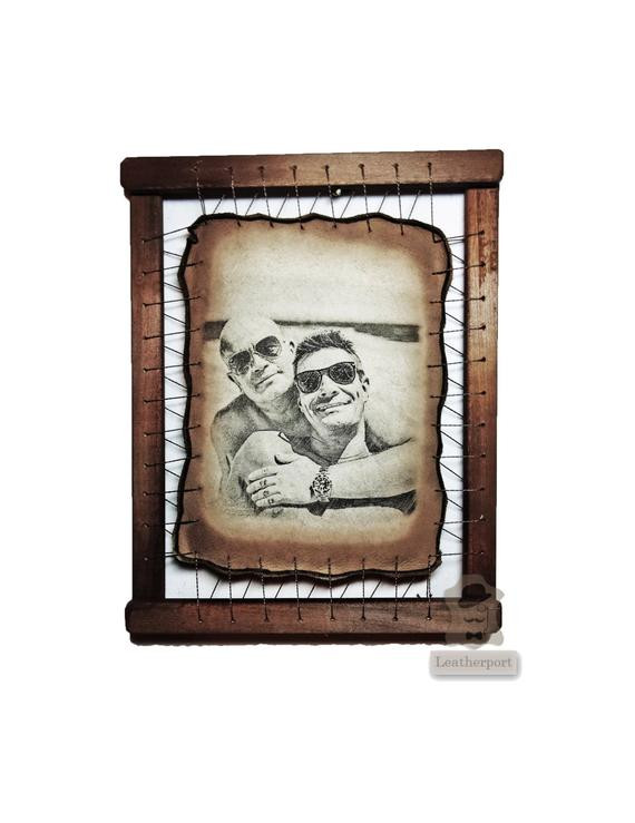 Best ideas about 17Th Anniversary Gift Ideas . Save or Pin 17th Anniversary Gift by Leatherport on Etsy Now.