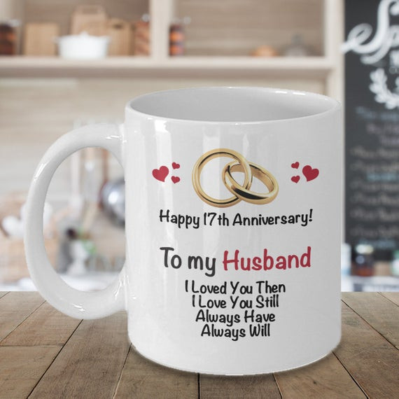 Best ideas about 17Th Anniversary Gift Ideas . Save or Pin 17th Anniversary Gift Ideas for Husband 17th Wedding Now.