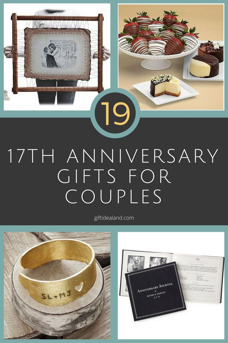 Best ideas about 17Th Anniversary Gift Ideas . Save or Pin 42 Good 17th Wedding Anniversary Gift Ideas For Him & Her Now.