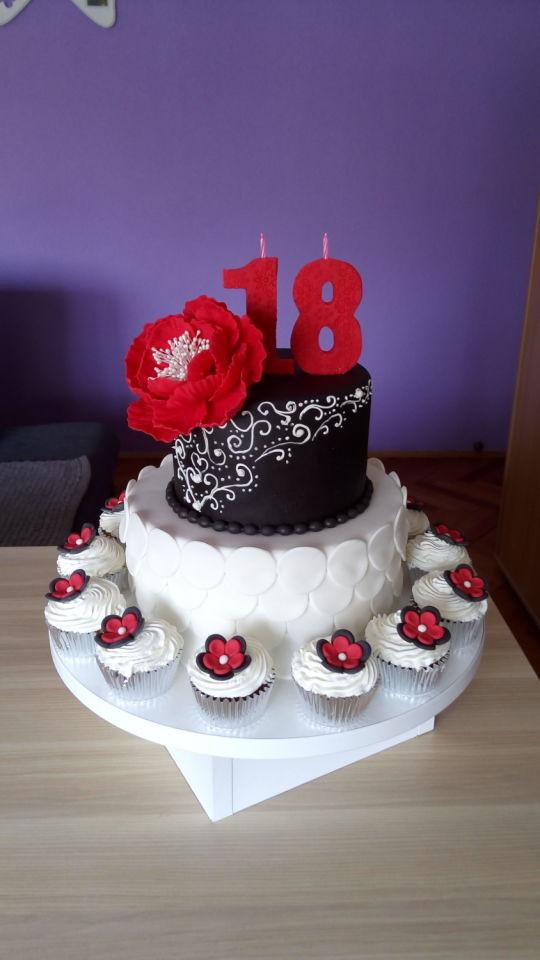 Best ideas about 18 Birthday Cake . Save or Pin 18 birthday cake cake by Zaklina CakesDecor Now.