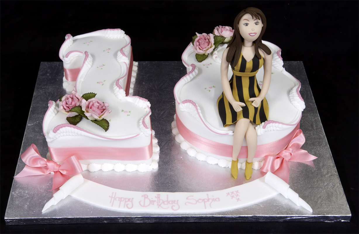 Best ideas about 18 Birthday Cake . Save or Pin Free Cake Info Birthday Cakes for Girls 18th Now.