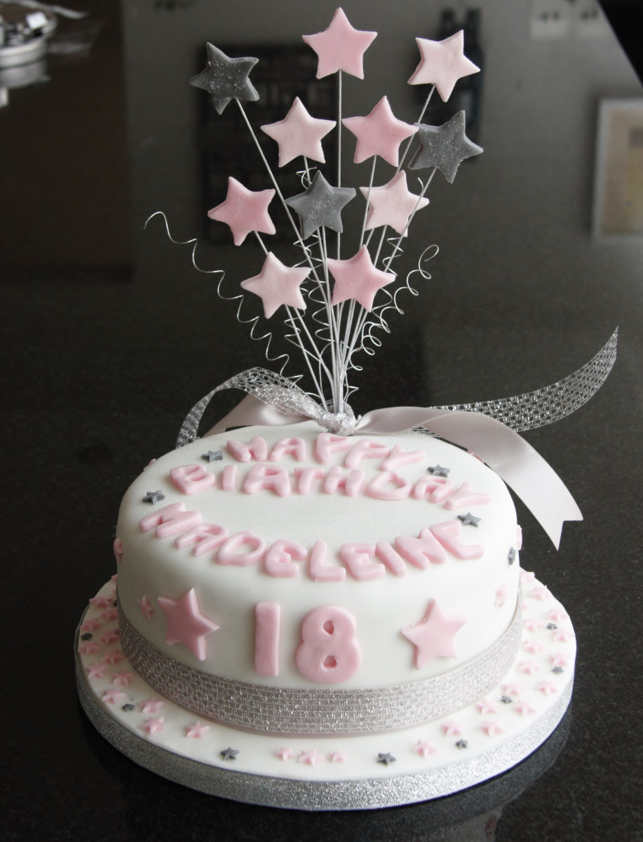 Best ideas about 18 Birthday Cake . Save or Pin 18th Birthday Star Cake and Cupcakes – lovinghomemade Now.