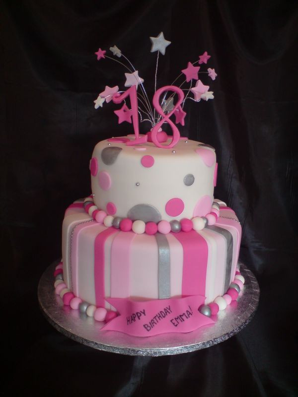 Best ideas about 18 Birthday Cake . Save or Pin 18th birthday cakes Now.